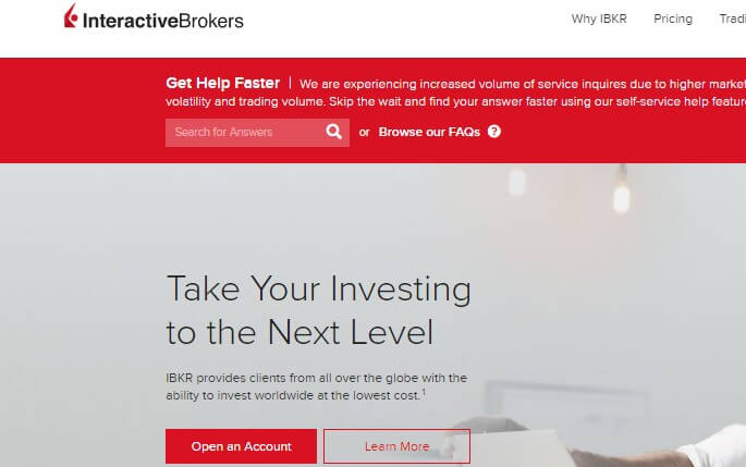 Interactive brokers singapore