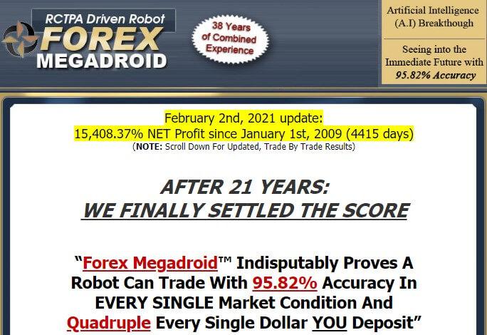 Forex megadroid ad